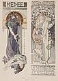 MUCHA, Alphonse (1860-1939) MEDEE & LA