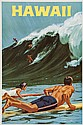 ALLEN, Charles HAWAII offset lithograph in