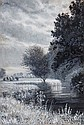 Arthur Trevor Haddon (1864-1941) River landscape
