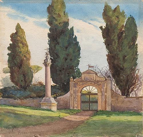 Pompeo Fabri (1874-1959) Horti Galateae: la villa