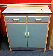 1950's small kitchen cabinet.