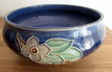 Royal Doulton stoneware art noveau bowl.