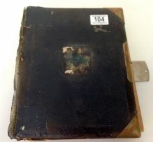 A Victorian photo Album of approximately.