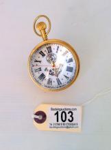 Ball clock marked Index