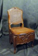 French Louis XV style chaise de bain