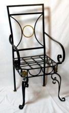 French Iron Chair