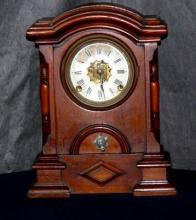 19th C. Mantel Clock, Arched Top
