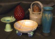 Group Lot of Pottery Items
