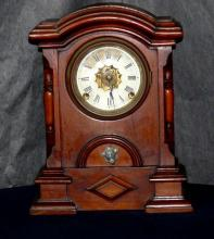 19th C. Mantel Clock, club foot