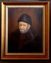 Oil on Canvas, Portrait of a man