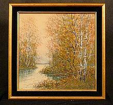 Raphael Senseman, American (1870-1965)  Watercolor