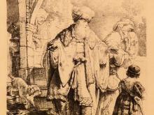 Rembrandt, Etching
