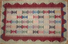 Moroccon Flat weave area rug
