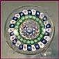 Baccarat. Presse-papiers orné de quatre cercles