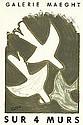 Georges Braque. - Sur 4 Murs.