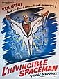 Affiche Anonyme - L'invincible Spaceman Entoilée