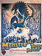 Affiche Anonyme - Le Monstre des Temps perdus