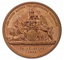 Medaglia commemorativa 1864 - Gedenkmedaille 1864