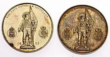 Due medaglie Andreas Hofer (Innsbruck) - 2 Medaillen des Andreas Hofer Innsbruck