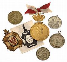 Insieme di sei medaglie - 6 Medaillen