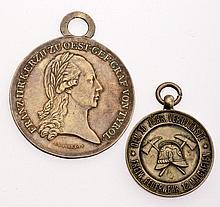 Insieme di due medaglie - 2 Medaillen