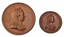 "Maria Teresa, due esemplari di ""Gnadenmedaille"