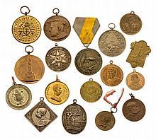 Insieme di 17 medaglie - 17 Medaillen