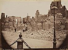 Luigi Fiorillo  XIX sec. - Le bombardement d'Alexandrie