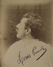 Luigi Primoli  1858-1925 - Due autoritratti di Luigi Primoli  c. 1890