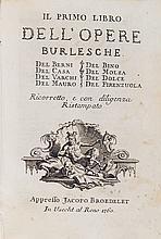 Berni, Francesco, Giovanni Della Casa, e altri
