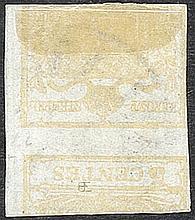 Lombardo Veneto I emissione - Stampa recto-verso