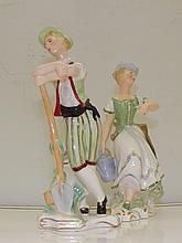 A pair of rare  Wedgwood figures