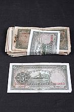 REPUBLIC OF CHINA OF YEAR 24 PAPER CURRENCY ISSUED BY BANK OF COMMUNICATIONS, 5 DOLLAR EACH (100 PIECES)