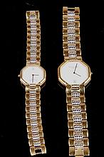 [OTHER] A PAIR OF WATCHES FROM CHRISTIAN DIOR