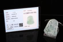 [CHINESE]A JADEITE CARVED DRAGON(31.5g) L:2.5