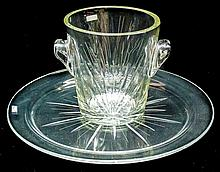 SET CONSISTING OF A TRAY AND AN ICE BUCKET