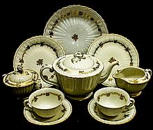 HISPANIA PORCELAIN TEA SET
