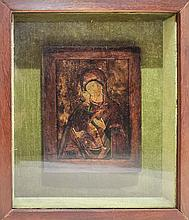 RUSSIAN ICON FROM THE 18TH CENTURY