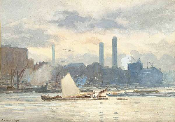Eric Walter Powell (British, 1886-1933)