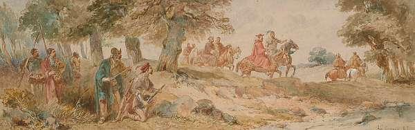 Charles Cattermole (British, 1832-1900)
