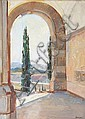 John Henry Amshewitz (British, 1882-1942) View from the Union Buildings, Pretoria 43 x 31cm., John Henry Amschewitz, Click for value