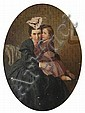 James Collinson (British, 1825-1881) 'Private and Confidential' 44 x 35.5cm. (in an oval mount), James Collinson, Click for value