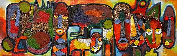Chief Jimoh Buraimoh (Nigerian, born 1943) Animals Kingdom