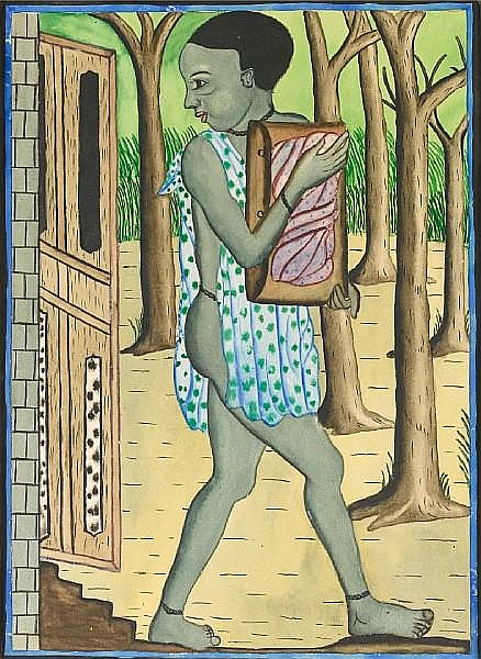 Christopher Chukwunenye Ibeto (Nigerian, 1912-1995) The Thief