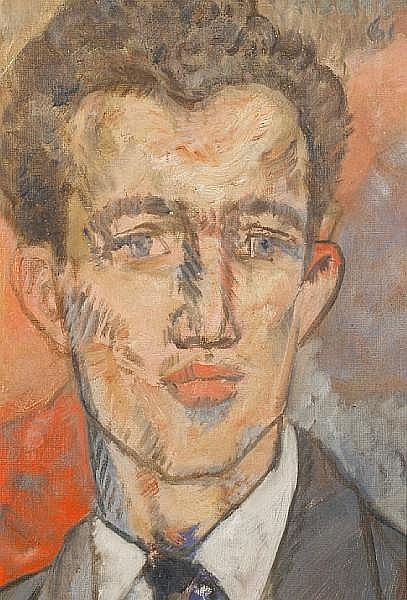 Peter Samuelson (British, 1912-1996) 'Curly - Bridget's boyfriend'