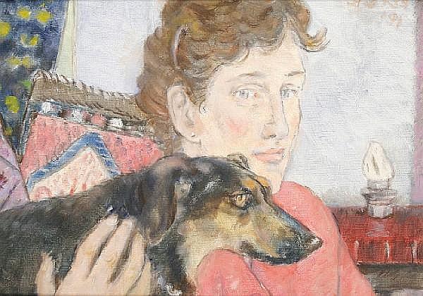 Peter Samuelson (British, 1912-1996) Monica and Sal