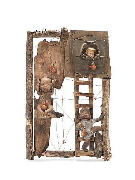 Gerard Quenum (Beninese, born 1971) Dolls