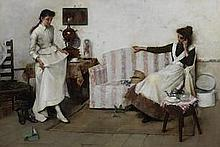 Albert Chevallier Tayler, RBC (British, 1862-1925) Trying them on