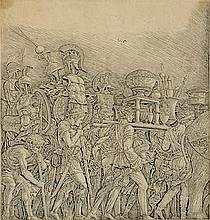 After Andrea Mantegna  (Italian, 1431-1506)  Triumph of Caes