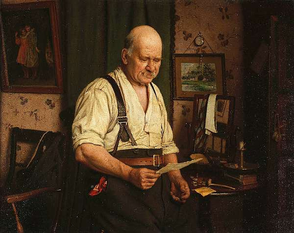 Charles Spencelayh, RMS, HRBSA (British 1865-1958)